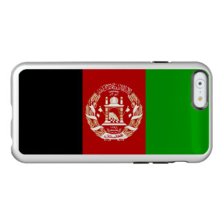 Flag of Afghanistan Silver iPhone Case Incipio Feather® Shine iPhone 6 Case