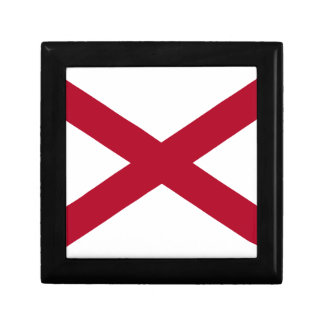 Flag Of Alabama Gift Box