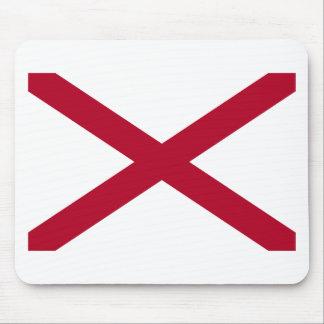 Flag Of Alabama Mouse Pad