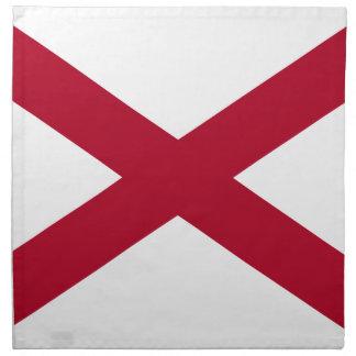 Flag Of Alabama Napkin