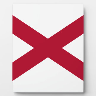 Flag Of Alabama Plaque