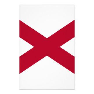 Flag Of Alabama Stationery