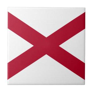 Flag Of Alabama Tile