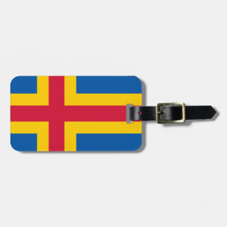 Flag of Åland Bag Tag