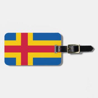 Flag of Åland Luggage Tags