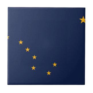 Flag of Alaska Ceramic Tiles