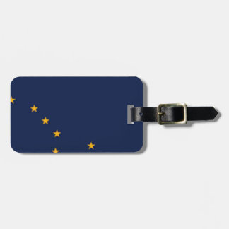 Flag Of Alaska Luggage Tag
