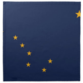 Flag Of Alaska Napkin