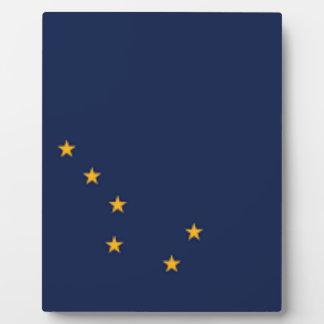 Flag Of Alaska Plaque