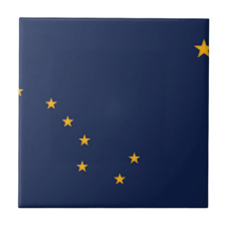 Flag Of Alaska Tile