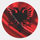 Flag of Albania, Albanian Flag Classic Round Sticker