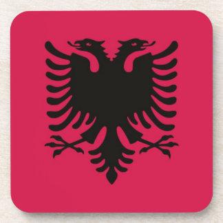 Flag of Albania Beverage Coaster