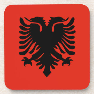 Flag of Albania Beverage Coasters