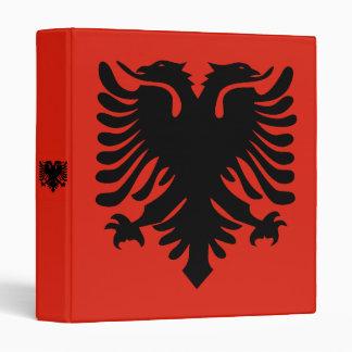 Flag of Albania Binder