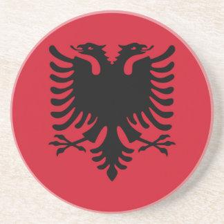 Flag of Albania Coasters