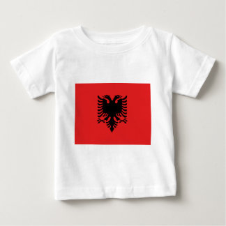 Flag of Albania - Flamuri i Shqipërisë Baby T-Shirt