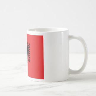 Flag of Albania - Flamuri i Shqipërisë Coffee Mug