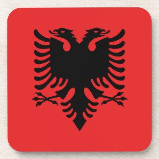 Flag of Albania - Flamuri i Shqipërisë Drink Coaster