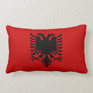 Flag of Albania Lumbar Pillow