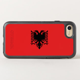 Flag of Albania OtterBox iPhone Case