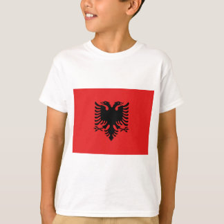 Flag_of_Albania T-Shirt