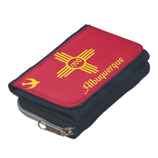 Flag of Albuquerque, New Mexico Wallets