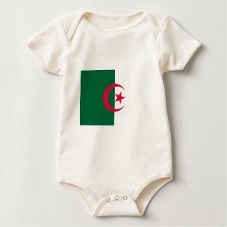 Flag_of_Algeria Baby Bodysuit
