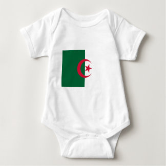 Flag_of_Algeria Baby Bodysuit