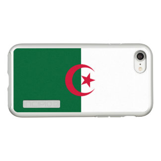 Flag of Algeria Silver iPhone Case
