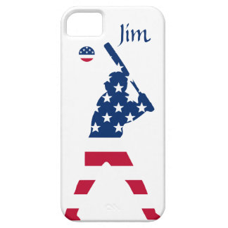Flag of America Baseball American iPhone 5 Covers