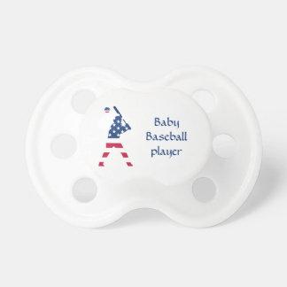 Flag of America Baseball American Pacifier