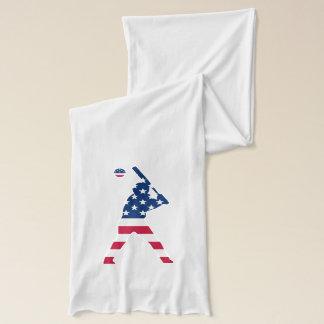 Flag of America Baseball American Scarf
