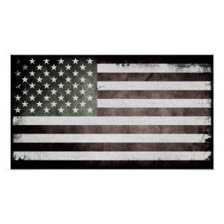 Flag of America Poster