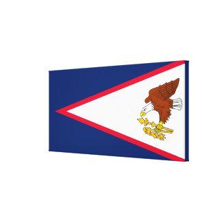 Flag of American Samoa Canvas Print