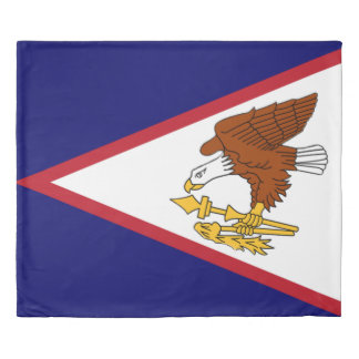 Flag of American Samoa Duvet Cover