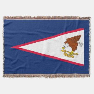 Flag of American Samoa Throw Blanket