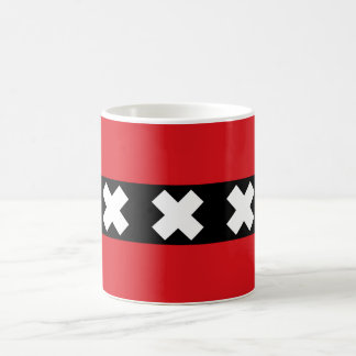 Flag of Amsterdam Coffee Mug