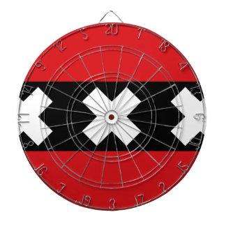 Flag of Amsterdam Dart Board