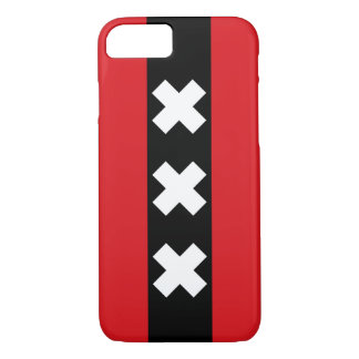 Flag of Amsterdam, Netherlands iPhone 8/7 Case