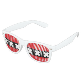 Flag of Amsterdam Party Shades