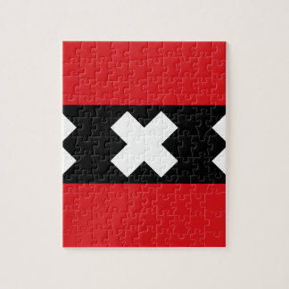 Flag of Amsterdam Puzzles