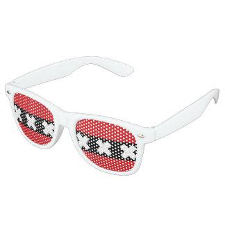 Flag of Amsterdam Retro Sunglasses