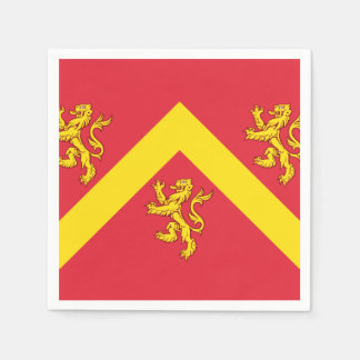 Flag of Anglesey Napkin