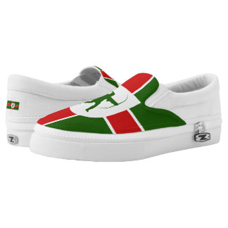 Flag of Anglesey Slip-On Sneakers