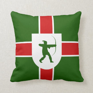 Flag of Anglesey Throw Pillow