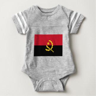 Flag of Angola - Bandeira de Angola Baby Bodysuit