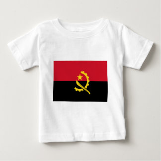 Flag of Angola - Bandeira de Angola Baby T-Shirt