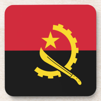 Flag of Angola - Bandeira de Angola Coaster