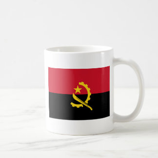 Flag of Angola - Bandeira de Angola Coffee Mug