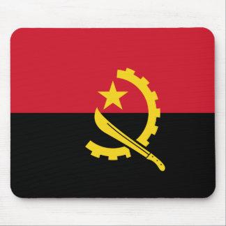 Flag of Angola - Bandeira de Angola Mouse Pad